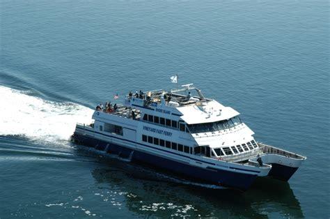 ferry boat builders marthas vineyard fast ferry