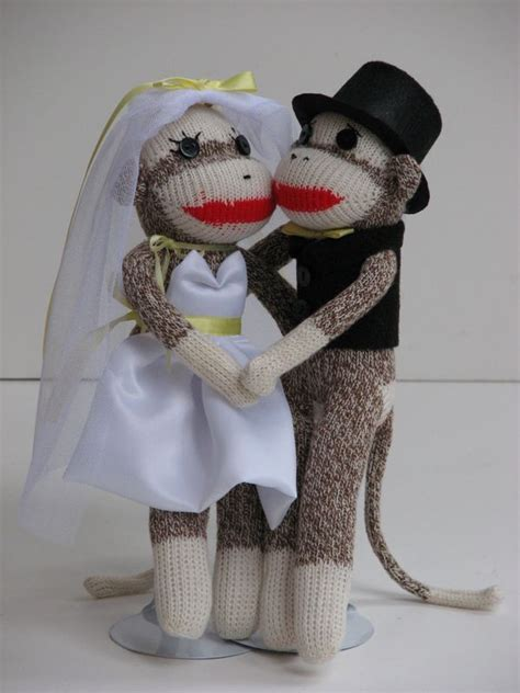 Monkey For Your Wedding by Sock Monkey