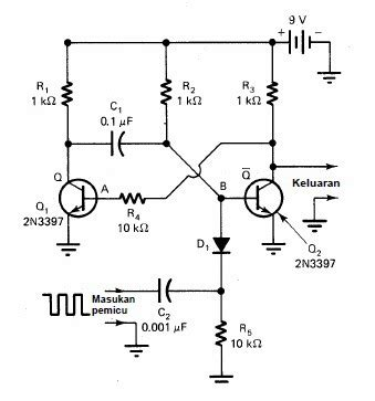 rangkaian converter dc ke dc simetris ic 555 converter dc 12v ke ac 220v