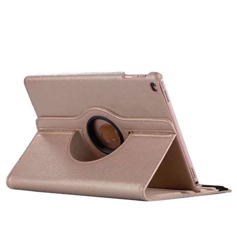 New 2017 9 7 Inch Rotary 360 Black Leather מוצר 360 rotating for 9 7 2017 new model pu leather for apple 2017 tablet