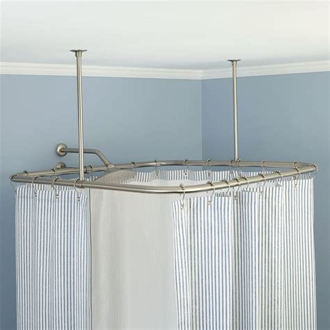 ceiling mount curtain rod shower curtain rods ceiling mount bathroom shower curtain rods and ceilings