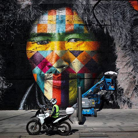 brazilian graffiti artist creates worlds largest street