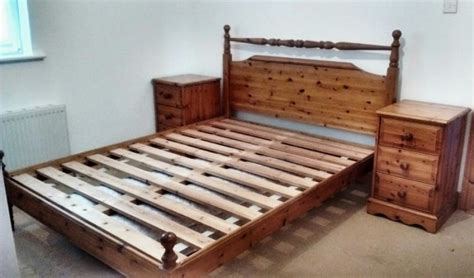 King Size Pine Bed Frame Solid Pine 5 King Size Bed Frame For Sale In Ballygunner Waterford From Zebra7