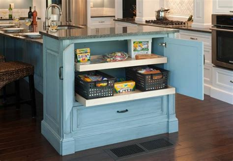 Kitchen Island With Storage | 10 stylishly functional kitchen islands