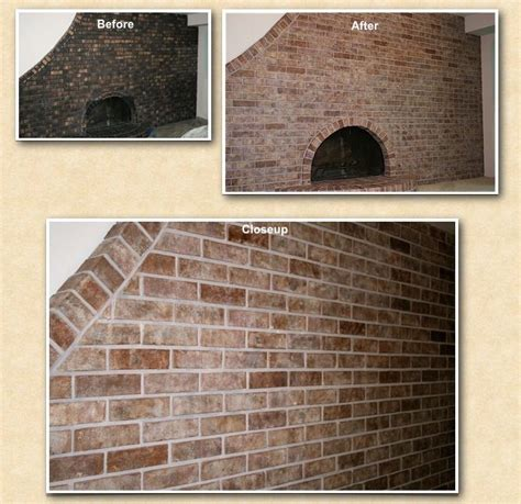 Change Color Of Brick Fireplace by 32 Best Images About Brick Transformations On
