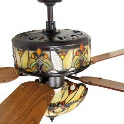 stained glass ceiling fan ceiling fans for vaulted ceilingsherpowerhustle