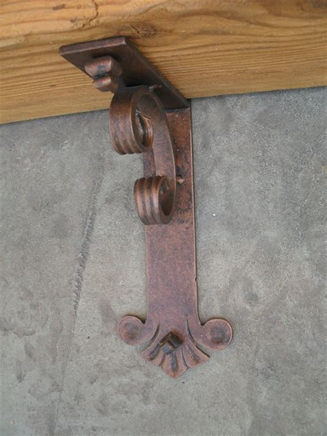 Decorative Mantel Brackets Iron Mantel Bracket Large Shoreline Ornamental Iron