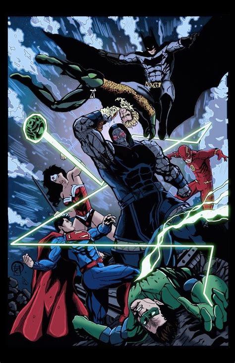 libro justice league the art 55 geniales ilustraciones de la liga de la justicia