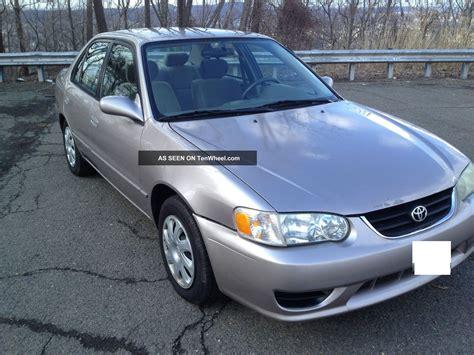 2001 Toyota Corolla Le 2001 Toyota Corolla Le
