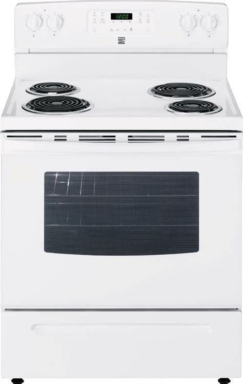 Oven Stove kenmore 94142 5 3 cu ft electric range w self cleaning