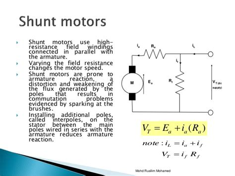 difference between coil and resistor chapter4 dc motor