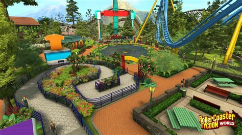 best roller coaster tycoon new rollercoaster tycoon world screenshots coaster101