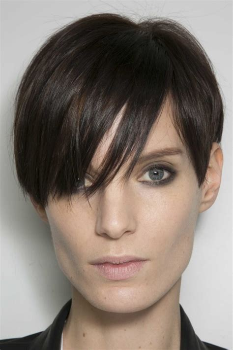 square cut hairstyle for boys short hairstyles for long faces 7 super flattering looks
