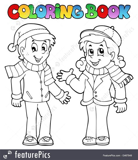 colouring book mp3 illustration of coloring book theme 1