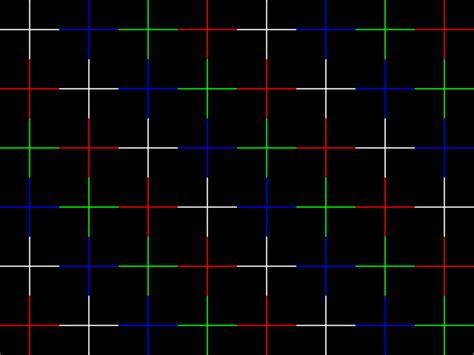 test pattern circle convergence comparison twelve 19 quot crt monitors