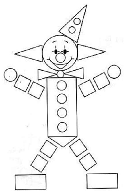 dibujos de un payaso con figuras geometricas rayito de colores figuras geom 233 tricas en formas de dibujos