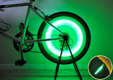 Bicycle Wheel Lights by New Atozi Bright Bicycle Tire Bike Wheel Spoke Valve