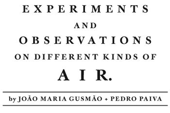 experiments and observations on different kinds of air vol 2 classic reprint books jo 227 o gusm 227 o pedro paiva at 53rd venice biennale