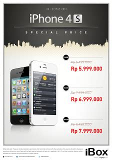 Headset Iphone 4 Di Ibox harga spesial iphone 4s di ibox