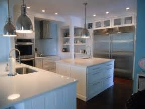 White Quartz Kitchen Countertops The Granite Gurus June 2011