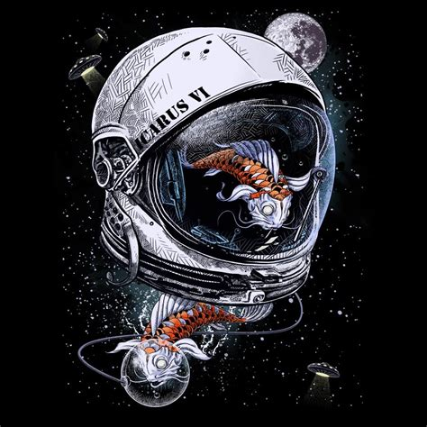 design by humans space koi by drspazmo by design by humans on deviantart