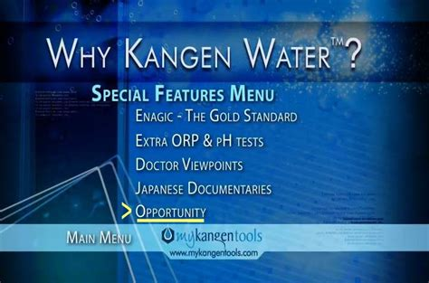 Special Kangen Water discontinued product why kangen water dvd