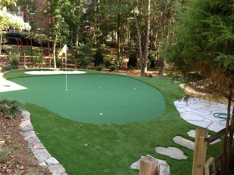 outdoor putting green backyard putting green backyard putting green landscape traditional with artificial turf garden