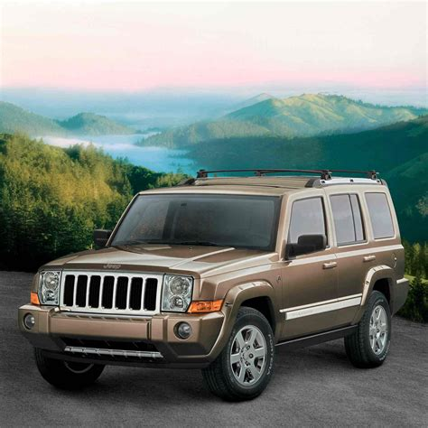 Jeep Commander Safety The 2006 Jeep Commander Earns Top Government Safety Rating