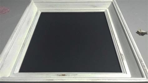 chalkboard paint frame learn to make shabby chic chalkboard frames