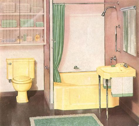 1930s Bathroom Suite by The History Of The Toilet House Restoration