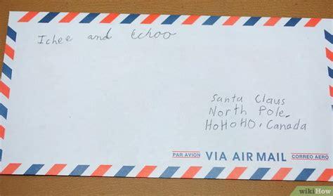 spedire lettere come inviare una lettera a babbo natale 5 passaggi