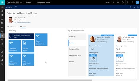 Microsoft Building 4 Dynamics 365 For Talent Technical Preview Is Here