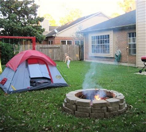 Camping In Your Backyard Camping In The Backyard Anti Gripe Parenting