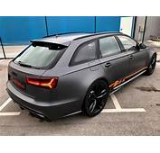 Daytonagrau Matt Am Audi RS6 C7 Avant By BB Folien