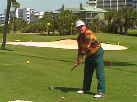 greatest golf swing ever 1994 moe norman golf swing demo pga interview best