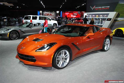 2015 corvette stingray orange car interior design