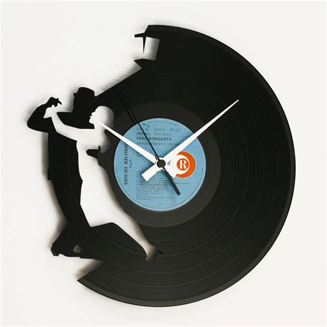 design wall clock tango vinyl design wall clock wall clocks home