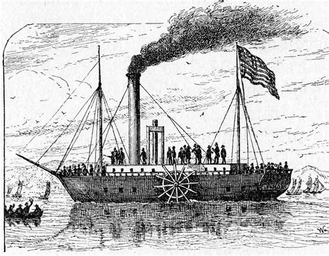 steamboat effects industrial revolution steam boat