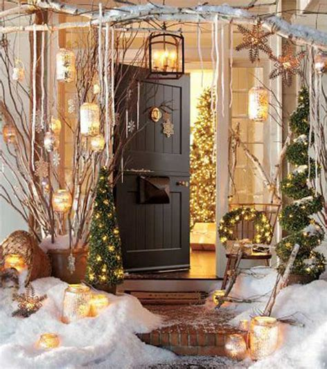 outdoor christmas decorations ideas porch 40 cool diy decorating ideas for christmas front porch