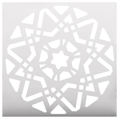 printable stencils geometric geometric mandala stencil contemporary wall stencils