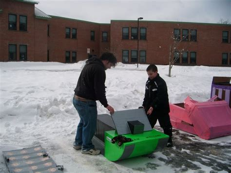 pin by tracy gray on mal s pals cardboard sled races 2011