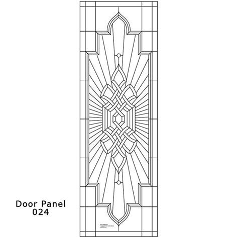door panel design 024 ornamental stained glass buy