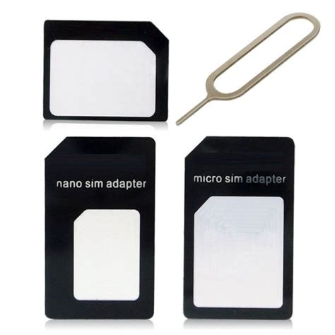 how to make sim card adapter 3 in 1 sim card adapter kit micro sim nano sim for