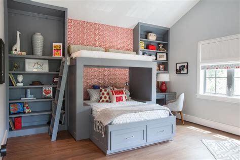 collection of overhead bed bedroom kids beds with storage 2017 kids built in bed transitional girl s room