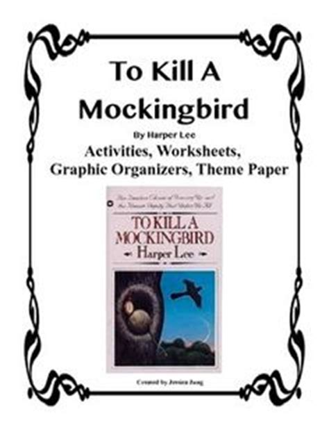 to kill a mockingbird theme graphic organizer princess pink and the land of fake believe moldylocks and
