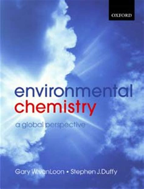 environmental chemistry a global perspective books eic january 2007 review understanding the world