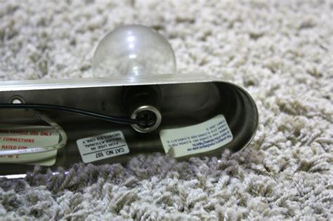 used light bars for sale rv interiors used 3 bulb vanity light bar rv light