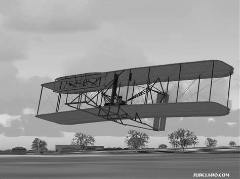 wright brothers airplane clipart