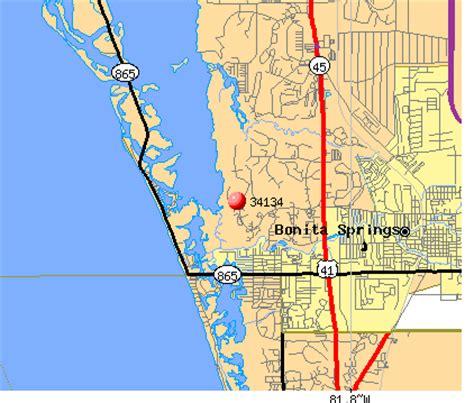 zip code map estero fl 34134 zip code bonita springs florida profile homes