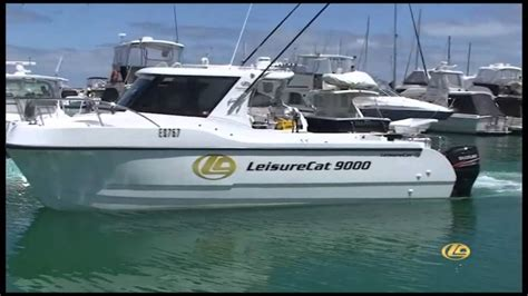 catamarans for sale noosa 9000 kingfisher series power catamarans youtube